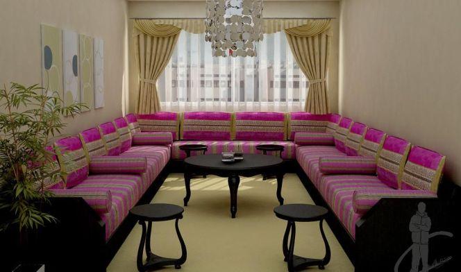 Un salon marocain