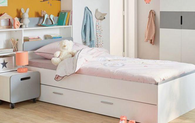 Une chambre colorée pour une petite fille. © Alinéa