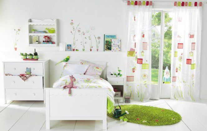 Une chambre lumineuse et bien décorée !  © Decoration-chambre