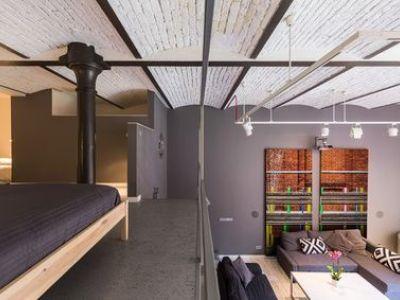 Une chambre mezzanine