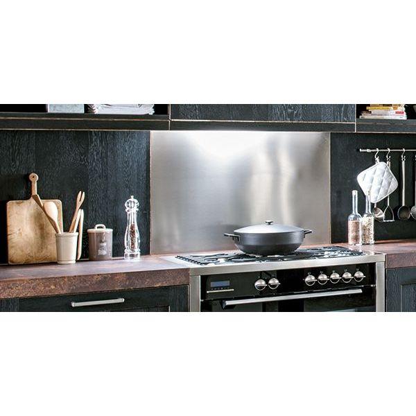 Credence de cuisine crdence de cuisine en mosaque for Poser une credence inox