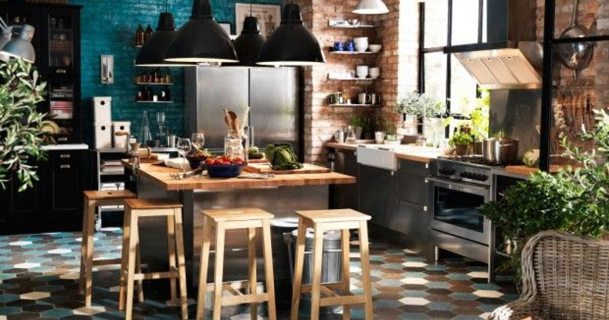 Une cuisine la d co industrielle - Decoration industrielle pas cher ...