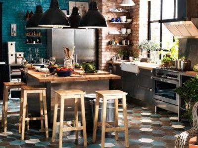 Une cuisine à la déco industrielle