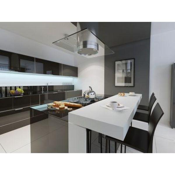 Une cuisine la d co minimaliste for Cuisine minimaliste