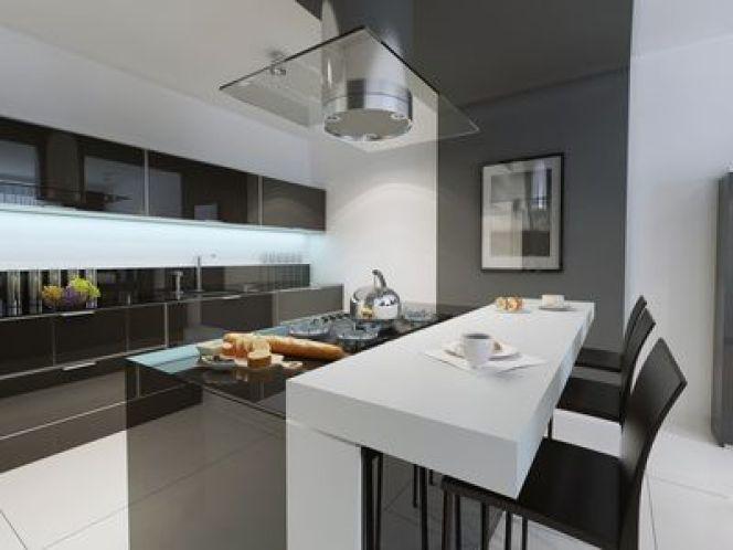 Une cuisine à la déco minimaliste