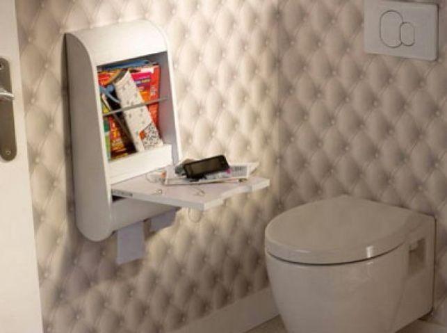 Une déco originale pour vos toilettes