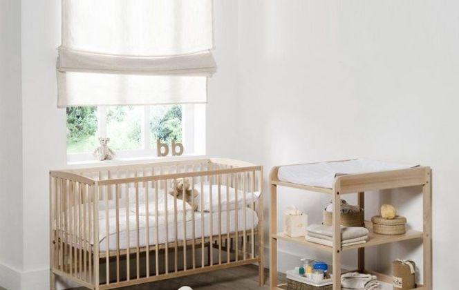 Une décoration naturelle pour cette chambre de bébé  © La Redoute