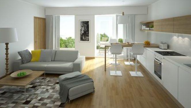 Une maison à la déco minimaliste