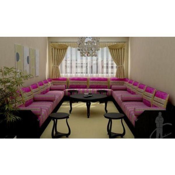 Dcoration orientale salon affordable decoration salon - Maison plain pied deco orientale palm springs ...