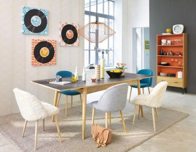 Une maison à la déco sixties : couleurs vives et motifs à profusion !