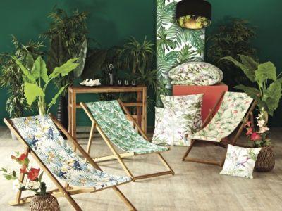 Une maison à la déco tropicale