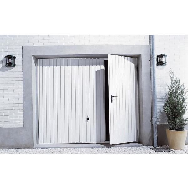 Le portillon de garage un acc s libre et rapide - Isolation garage leroy merlin ...