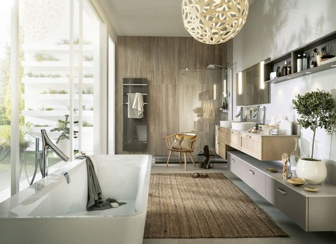 Notre s lection des plus belles salles de bain une salle - Salle de bain esprit zen ...