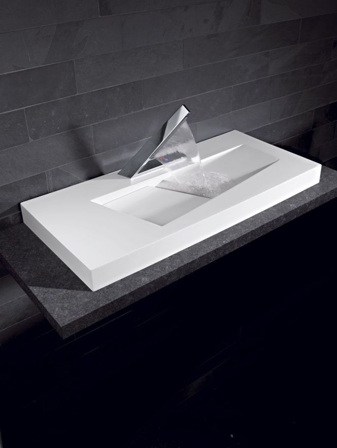 notre s l ction de vasques de salle de bains vasque design par espace aubade. Black Bedroom Furniture Sets. Home Design Ideas