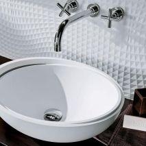 Vasque en céramique par Perene