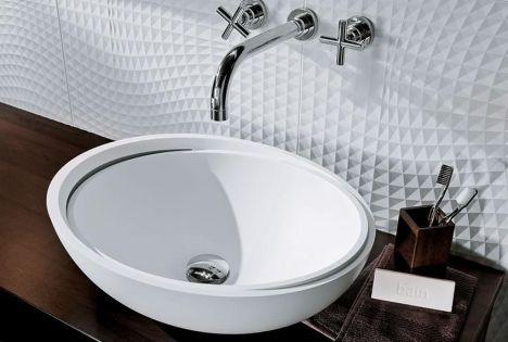 vasque en c ramique par perene. Black Bedroom Furniture Sets. Home Design Ideas