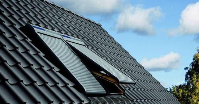 Volets de toit proposés par la marque Velux